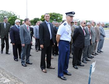 Sargento Pereira marca presença no aniversário da Base Aérea de Anápolis